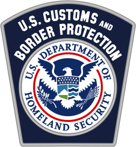 Patch from CBP uniforms.