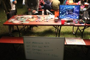 Heroic Open-Air Drug Market at Porcfest 2019