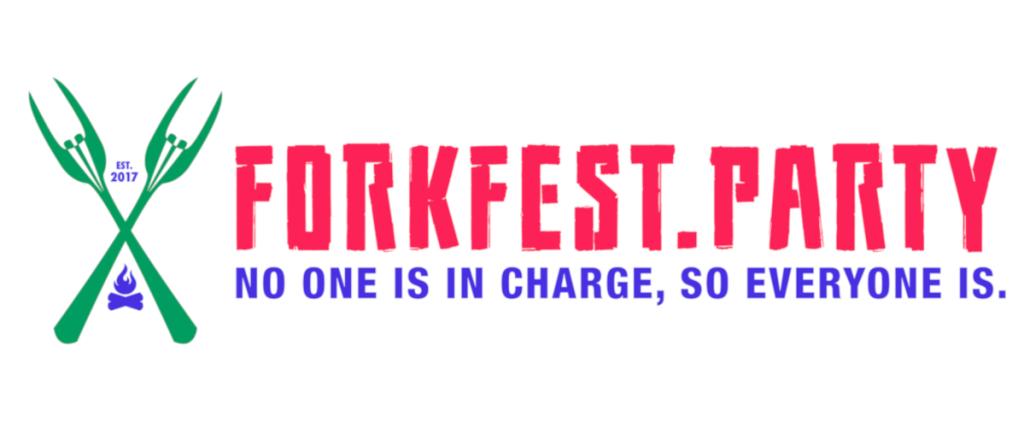 Unofficial Forkfest Wide Logo