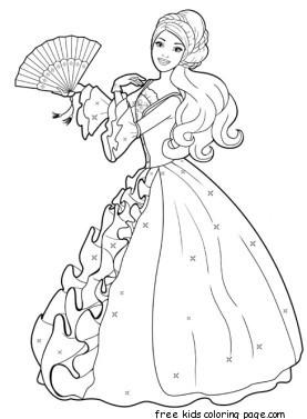 Printable Barbie Princess Dress Up Games And Makeover