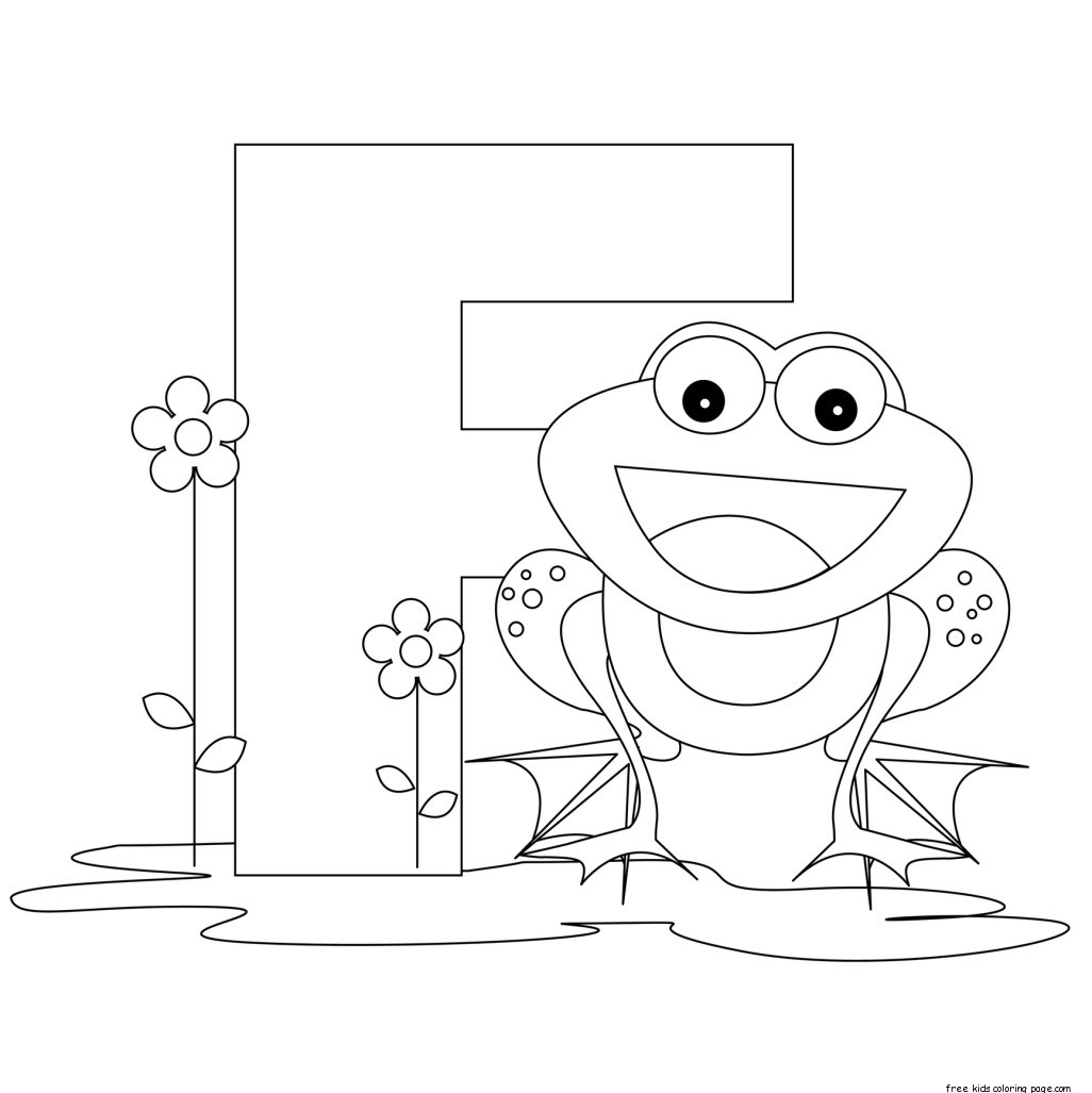 Pritnable Alphabet Letter F Preschool Activities
