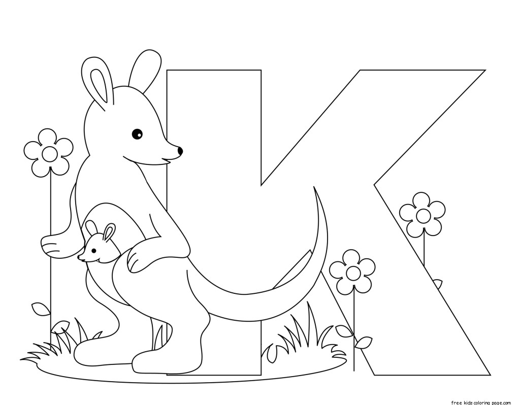 Free Printable Alphabet Letters For Kindergartenfree