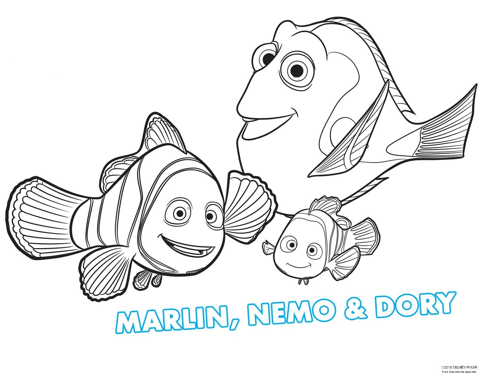Free Printable Finding Dory Coloring Page For Kidsfree Printable Coloring Pages For Kids