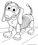 Slinky dog toy story coloring page - Free Printable ...