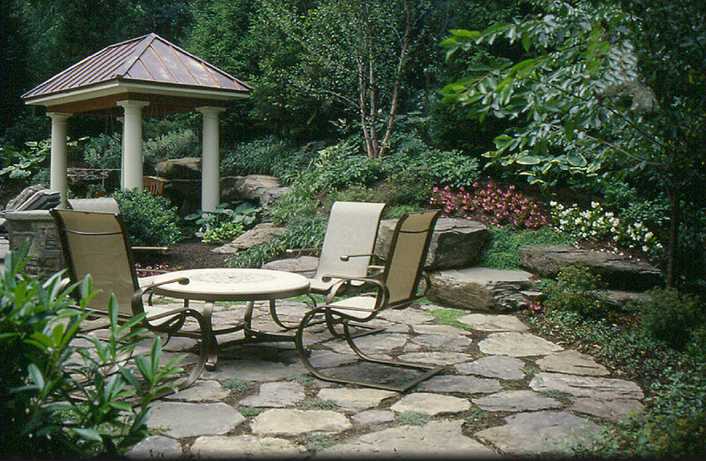 Pin by Vicki Calhoun on Outside | Pinterest on Rock Patio Designs  id=39385