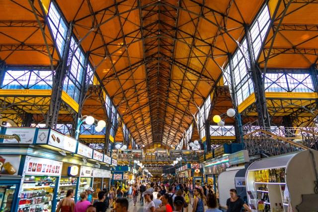 Central Market Budapest, Hungary