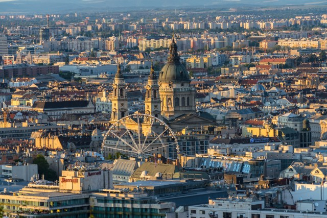 View of Downtown Budapest