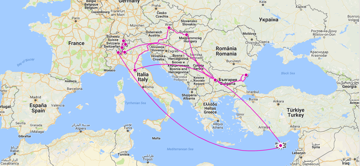 The Grand Eurotrip of 2017