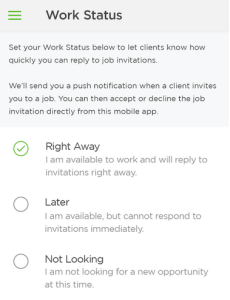 Upwork-messenger-freelancer-status