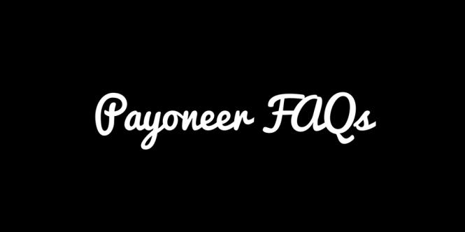 Payoneer FAQs