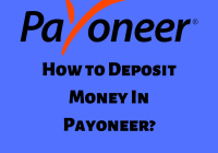 How to Deposit Money In Payoneer