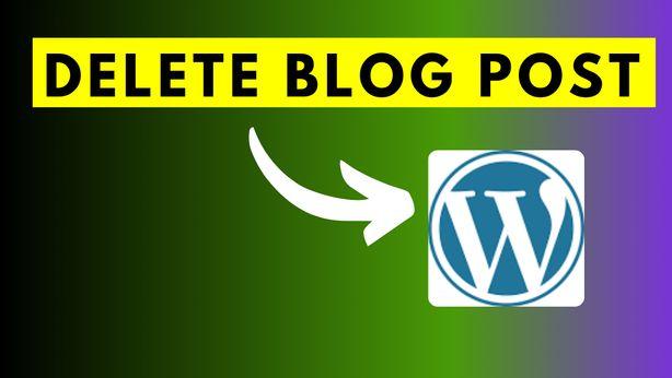 How to Delete WordPress Blog Post