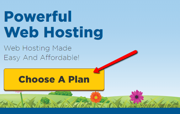 choose web hosting plans