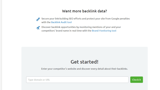 seo basics for freelancers to analyze competitors links