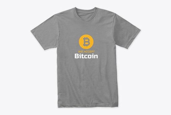 Bitcoin Tshirt Design