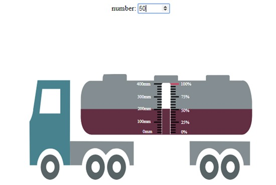 Dynamic Vehicle tank