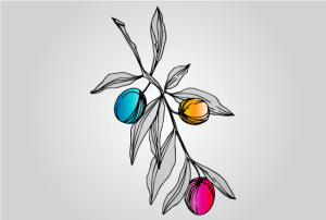 colorful plant vector