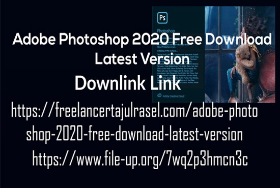 Adobe Photoshop 2020 Free Download Latest Version