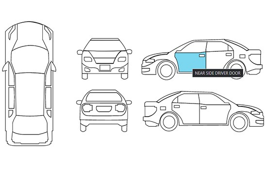 Car Diagram and Popup Title