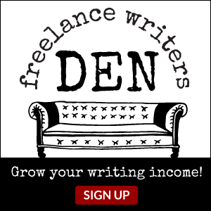The Freelance Writers Den: Grow Your Writing Income! Sign Up