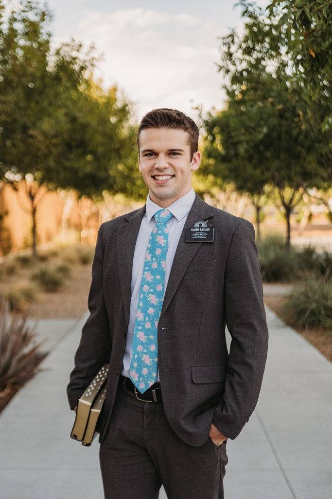 LDS missionary photography at the gilbert arizona temple