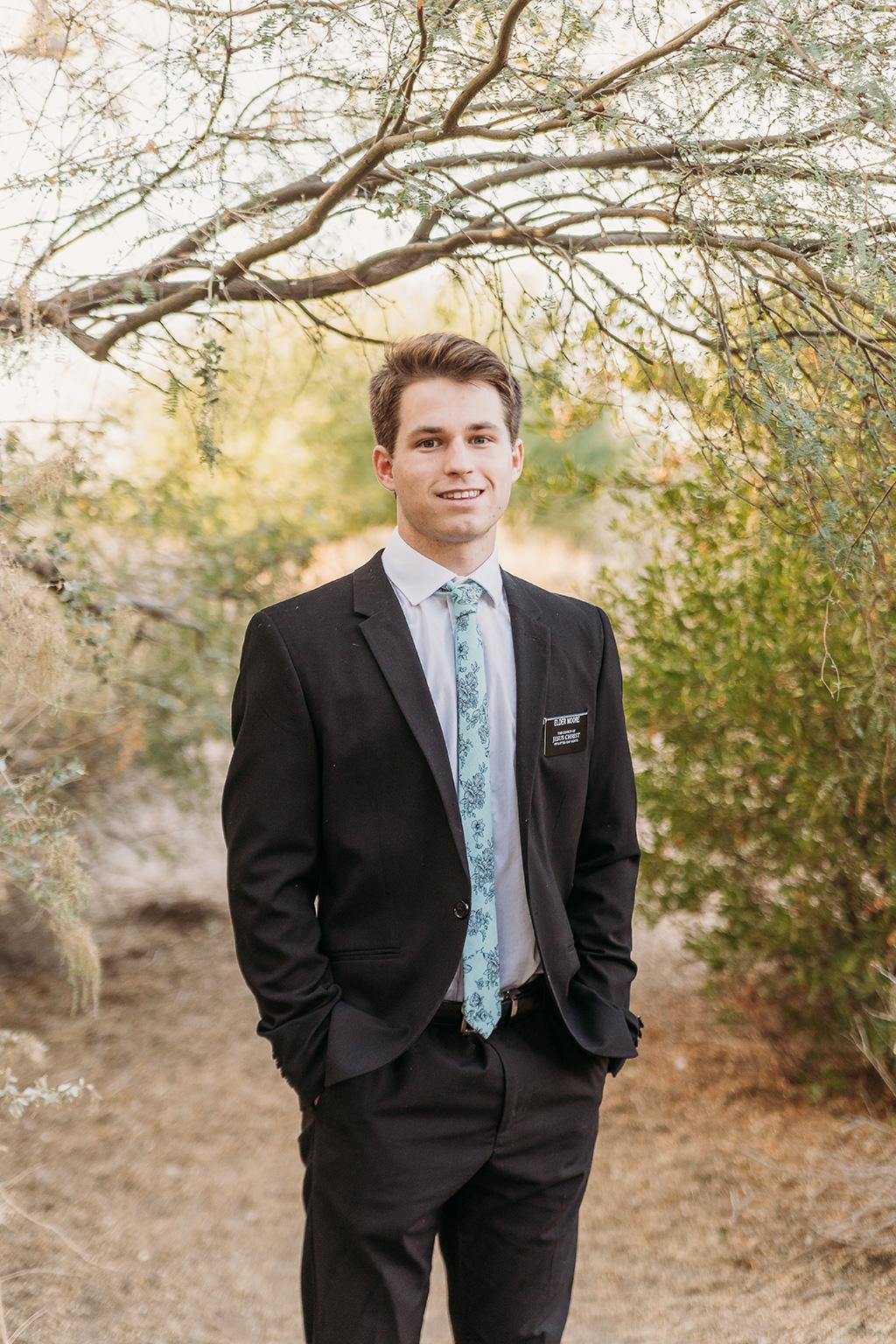 LDS missionary photoshoot in chandler arizona