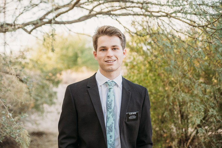 LDS missionary photoshoot in chandler az