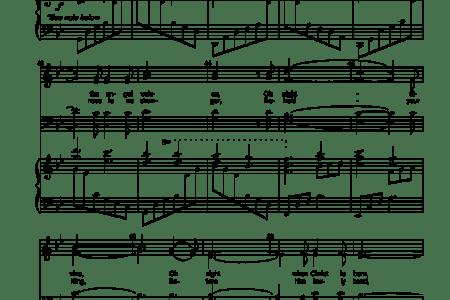 O Holy Night Sheet Music Pdf Free Sheet Music Sheet Music