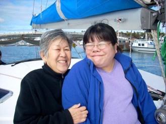 Mama and sista