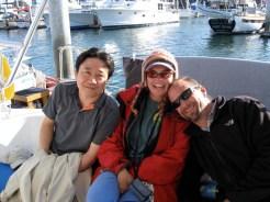 Matt, Kathleen, and friend