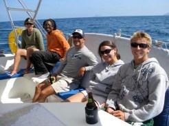 Flea, Ayoola, Kurt, Jes, and Jon