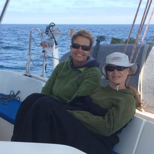 Crew aboard Free Luff