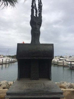 Taz's trip to the marina sculptures