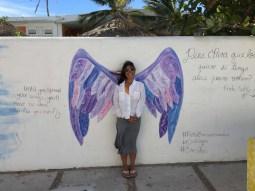 Angel wings in Barra