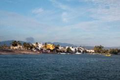 The lagoon side of Barra de Navidad