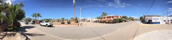 The town square in Perula