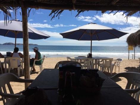 Randy's beachfront office