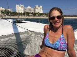 GG enjoying da boat
