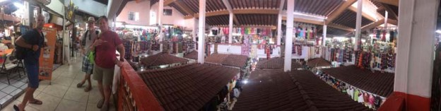 The massive two-story market in PV