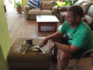 Thad's new friend
