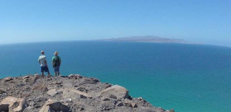 Looking across the channel to Espiritu Santo