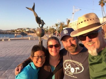 Last evening with Erin and Simon in La Paz