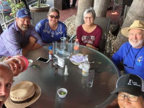 The gang in La Paz
