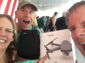 The new drone arrives via Tobe and GG in PV