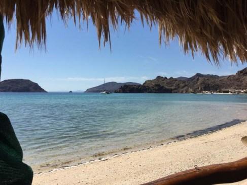 FL from Geary's patio in Playa el Burro