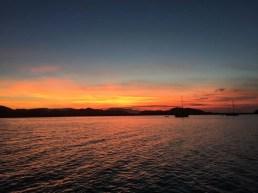 Sunset over La Gringa