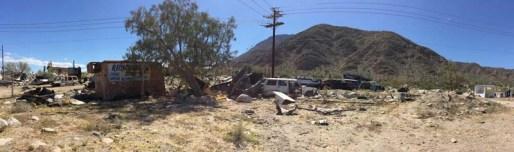 The Village wrecking yard