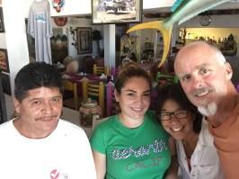 Tomás and Deva of Guillermo's