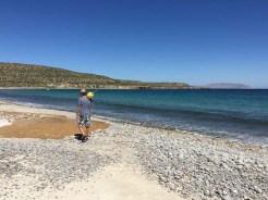 Capt. Rand finding treasures ashore on San Francisquito
