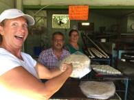 The best tortillas in Santa Rosalía